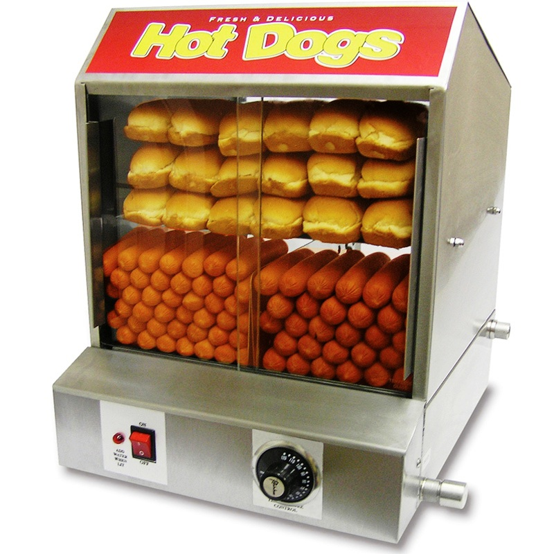 Hot Dog Steamer Machine For Sale